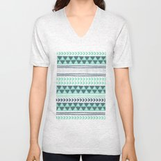 Winter Stripe Unisex V-Neck