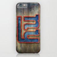 New York Giants iPhone 6 Slim Case