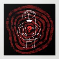 The Lonely Cyclops Of Sk… Canvas Print