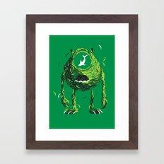 Wazowski of Fish Framed Art Print