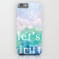 iPhone & iPod Case featuring Let's Drift in a Watercolor by MisfitIsle