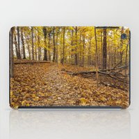 golden forest iPad Case