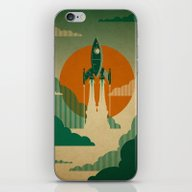 The Voyage (Green) iPhone & iPod Skin