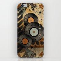 Retro Vinyl. iPhone & iPod Skin