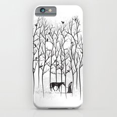 Snow & Ghost Amongst Crows iPhone 6 Slim Case