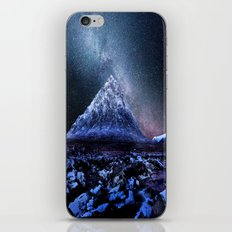 Milky Way Mountain iPhone & iPod Skin