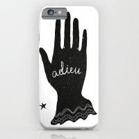 iPhone & iPod Case featuring ADIEU by Joanna Gniady