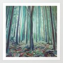 Home Grown Colours Art Print