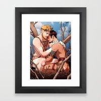 The Wild 03 Framed Art Print