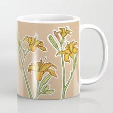 Orange lilies Mug