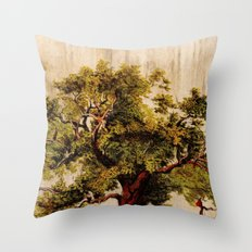 The Tree-man Throw Pillow