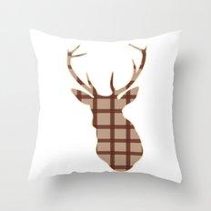 Christmas Reindeer. 6 Throw Pillow