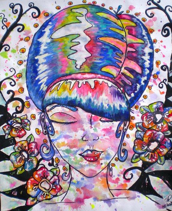 """""""Doo Wop"""" Art Print"""