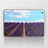 PROVENCE - Lavender   France   Travel   Summer   Purple   Nature   Landscape Laptop & iPad Skin