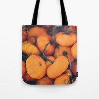 Obligatory Pumpkin Selfi… Tote Bag