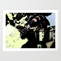 Revenge Of the Giant Art Print