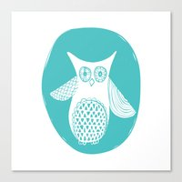 Hoot 2 Canvas Print