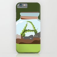 Terrarium Letter A iPhone 6 Slim Case