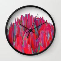 Cristal Mountain  Wall Clock