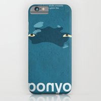 iPhone & iPod Case featuring Ponyo by Fabio Castro