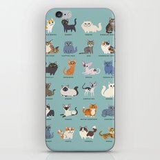 Cats! iPhone & iPod Skin