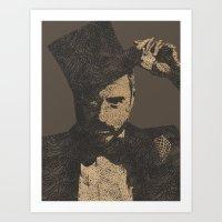 Mystery Unraveled  Art Print