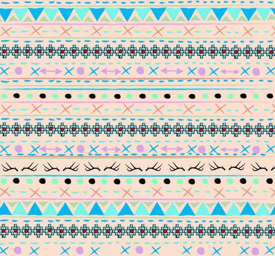 SWEET WINTER PATTERN Art Print