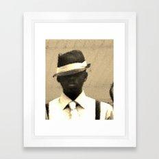 original gangsta Framed Art Print