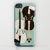Two Violins iPod touch Slim Case