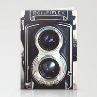 ROLLEIFLEX CAMERA Stationery Cards