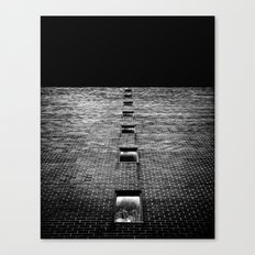 Above and Below at No 369 Pape Ave Toronto Canada Canvas Print