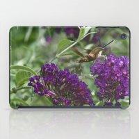 Hummingbird moth iPad Case