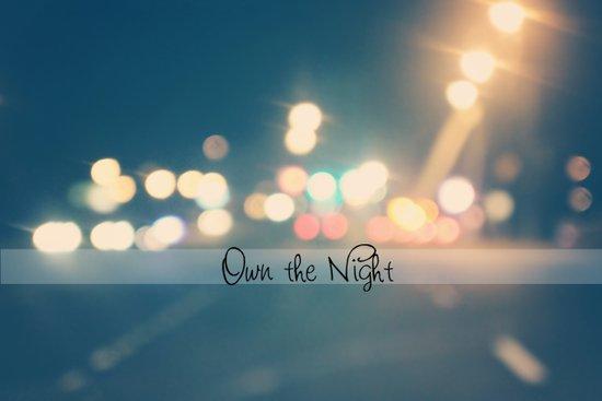 Own the Night Art Print
