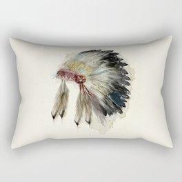 Rectangular Pillow - Headdress - bri.buckley