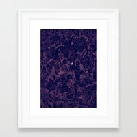 Eye. Framed Art Print