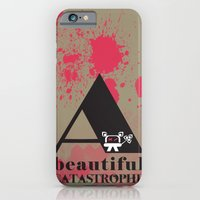 iPhone & iPod Case featuring A Beautiful Catastrophe Big by Hiver & Leigh
