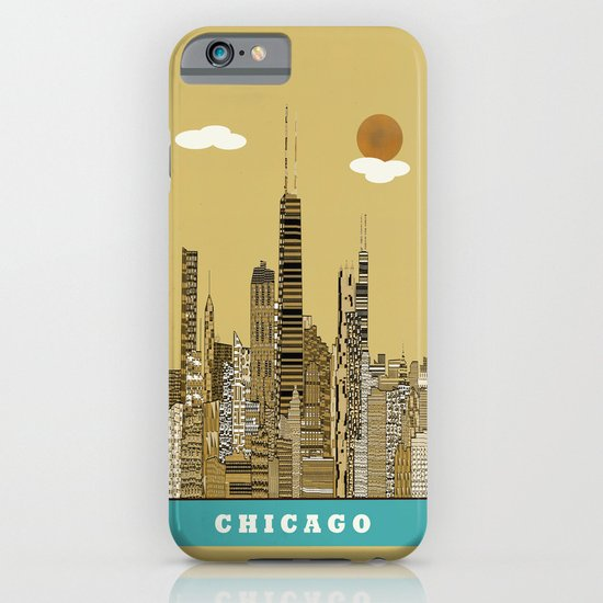 Chicago city (vintage iPhone & iPod Case