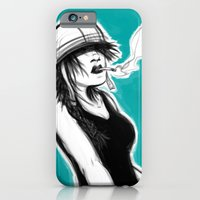 iPhone & iPod Case featuring Safety First (Teal) by Jacob Giordano