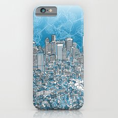 Boston City Skyline iPhone 6 Slim Case