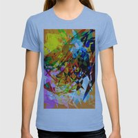 Colors Womens Fitted Tee Athletic Blue SMALL
