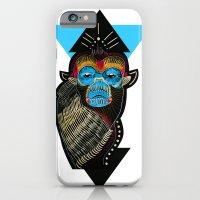 iPhone & iPod Case featuring Color me Monkey by Süyümbike Güvenç