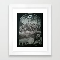 Forced Rejection Framed Art Print