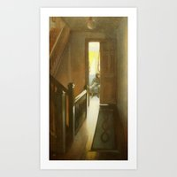Across the Hall Art Print