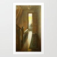 Across The Hall Art Print