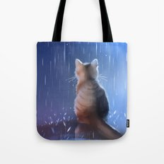 Under Rainy Days Like Th… Tote Bag