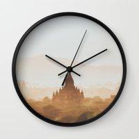 Bagan IV Wall Clock