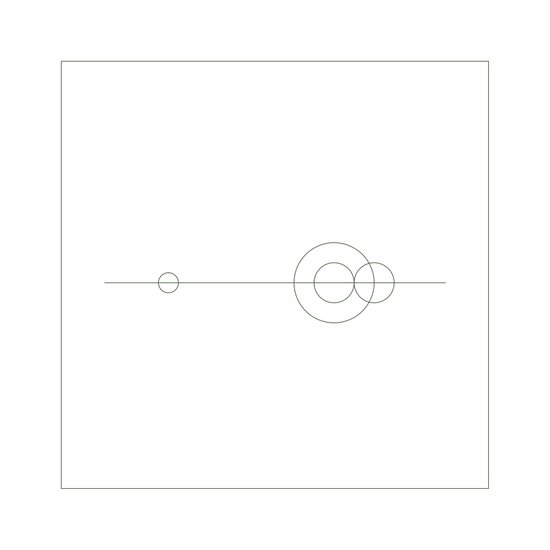 #379 Planetary balance – Geometry Daily Canvas Print