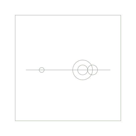 #379 Planetary balance – Geometry Daily Art Print