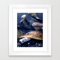 A Drowning Framed Art Print