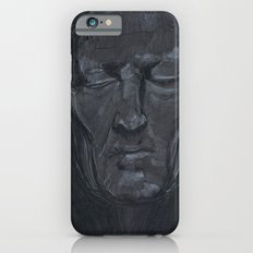 Portrait of man with eyes closed iPhone 6 Slim Case